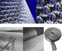 Sprężyste, metalowe pokrycia walców w maglach nieckowych